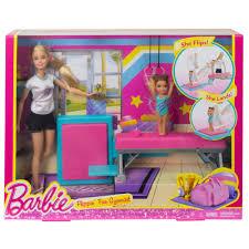 Barbie Dining Room Barbie Flippin U0027 Fun Gymnast Dolls Walmart Com