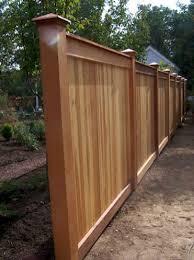 Backyard Fence Styles by 977 Best Fence Ideas Images On Pinterest Fence Ideas Garden