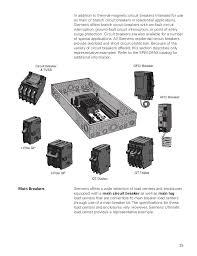 basics of circuit breakers siemens cources