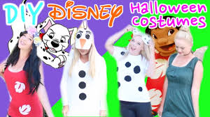4 quick u0026 easy diy disney inspired halloween costumes youtube