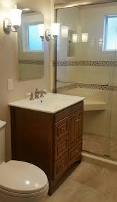 warm california bungalow bath u2014 cellar door interiors
