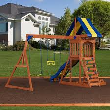 providence wooden swing set playsets backyard discovery