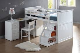 White Bedroom Chest Of Drawers By Loft Cheap White Loft Bed With Desk Best Home Furniture Decoration