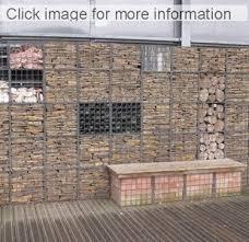 gabion landscaping stone wall ideas gabion1 uk