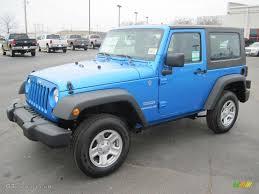 jeep wrangler sports 2010 surf blue pearl jeep wrangler sport 4x4 27169364 gtcarlot