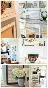 Cottage Style Living Rooms by Living And Loving Cottage Style Home Tour Fox Hollow Cottage