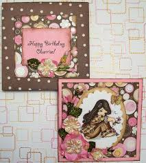 scrappyleggdesigns sweet 16 birthday card