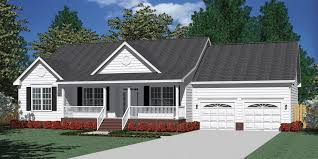 Southern Heritage Home Designs House Plan C The MANNING C - Slab home designs