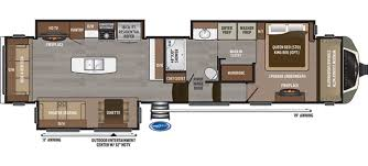 2 Bedroom Travel Trailer Floor Plans Keystone Montana Rvs For Sale Camping World Rv Sales