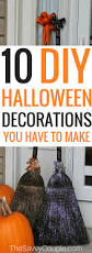 how to make cheap halloween props cheap halloween decorations that will make your house haunted