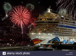 cruise ship new year s celebration in the lobby