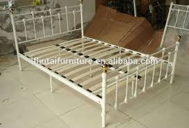 cheap antique metal bed 2017 latest double daybed metal bed with