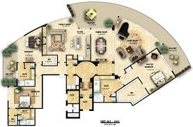 architectural plans plan colored floor illustration house plans 61715