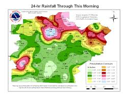 Louisville Zip Code Map by Flash Flood Of August 4 2009
