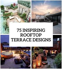 Inspiring Rooftop Terrace Design Ideas DigsDigs - Home terrace design