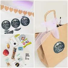 welcome bags for wedding our wedding welcome bags inspiralized