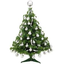 real small trees lights decoration
