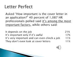 cover letter webinar