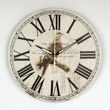 Decorative Clock Online Get Cheap Roman Wall Clock Aliexpress Com Alibaba Group