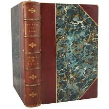 leather bound photo book antique leather bound books popes of rome by leopold ranke