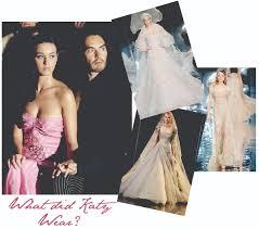katy perry wedding dress katy perry wore elie saab to wedding