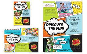 kids club flyer u0026 ad template word u0026 publisher