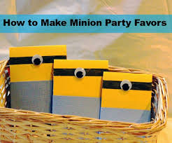 minion party favors how to make a minion party favor thebrandconnection