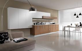 kitchen arched modern lighting white dining table white dining
