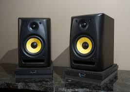 Studio Monitor Stands For Desk by Amazon Com Auralex Acoustics Propad Studio Monitor Acoustic