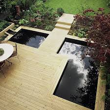contemporary softwood deck garden builders consultants produce in