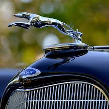 the lincoln greyhound ornament what a luxury car