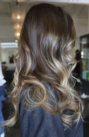 does hair look like ombre when highlights growing out brunette with caramel highlights neil george hair pinterest