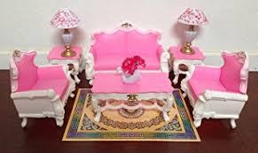 amazon com gloria barbie sized deluxe living room furniture