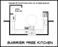 free kitchen floor plans handicap house plans with photos handicapped style house floor