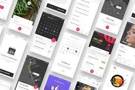 food ios app sketch file website templates creative market