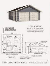 Detached 2 Car Garage by 2 Car Garage Designs Garage Plans Garage Apartment Plans Detached