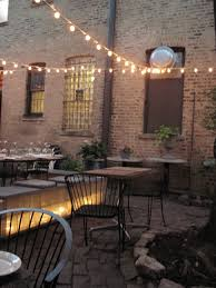 Chicago Patio Design by Briciola Ukrainian Village East Village Italian Restaurant
