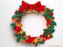 christmas wreath wallpapers for free download