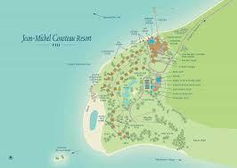 fiji resort map jean michel cousteau resort map fijiresort