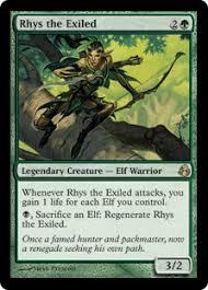 Seeking Card Rhys The Exiled Morningtide Gatherer Magic The Gathering