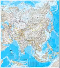 Nat Geo Maps National Geographic Map Of Asia Zoom