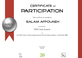 free certificate of participation templates besttemplates123