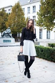 womens boots look how to wear the knee boots in fall just the design