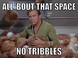 Turnt Meme - trouble wit tribbles while tryna get turnt memes
