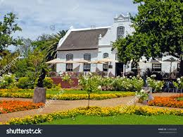 Patio Roof Ideas South Africa by Beautiful Landscape Colonial Farm House Patio Stock Photo