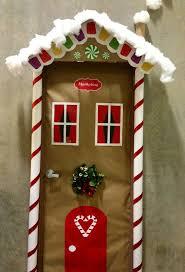 christmas christmasing ideas for office doors homemade kids work