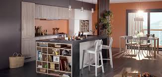 photo cuisine avec ilot central aménagement de cuisine avec îlot
