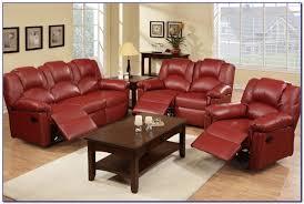 Leather Reclining Sofa Ashley Furniture Leather Reclining Sofa And Loveseat Sofas