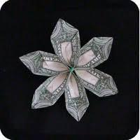 money flowers dollar bill origami make origami