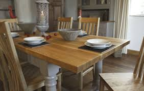 pine dining room table painted oak kitchen table